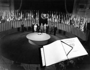 69 years ago in 1945, the UN Charter was signed in San Francisco